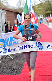 Beth Pascal setting course record in 2016